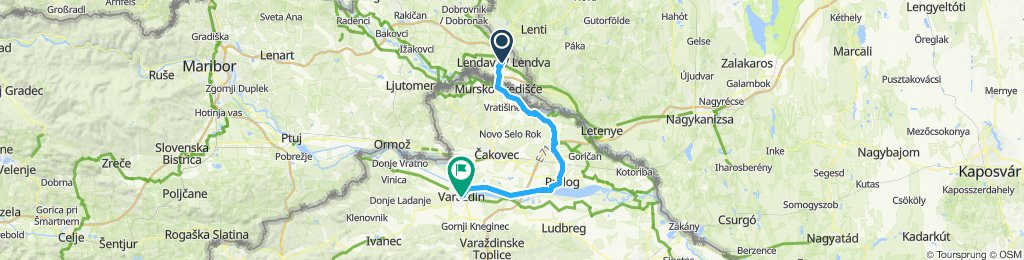 2019-06-14 Lendava (Slovenien) - Varaždin (Kroatien)