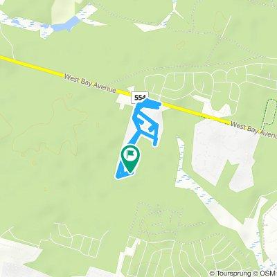 Snail-like route in Barnegat
