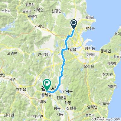 Pohang to Gyeongju