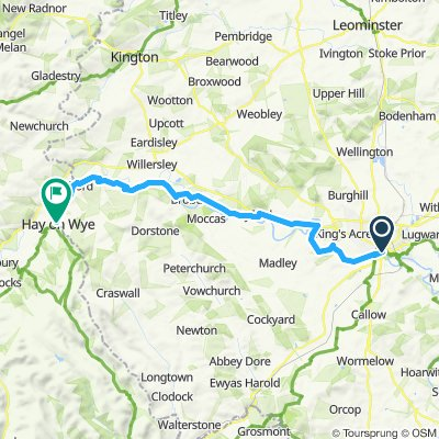 Hereford to Hay-on-Wye