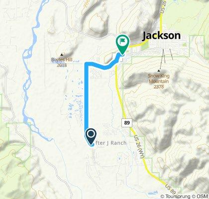 Easy ride in Jackson