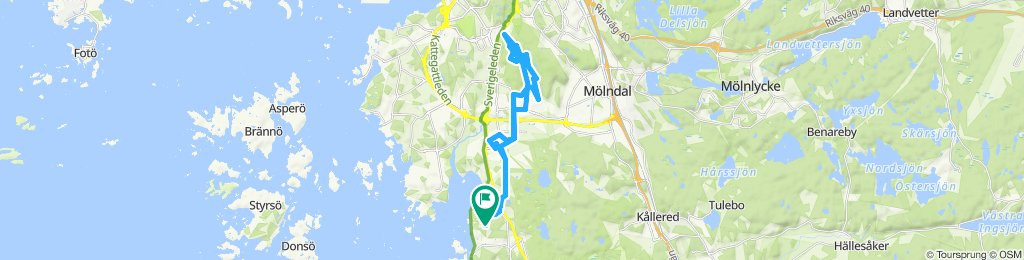 Steady ride in Göteborg