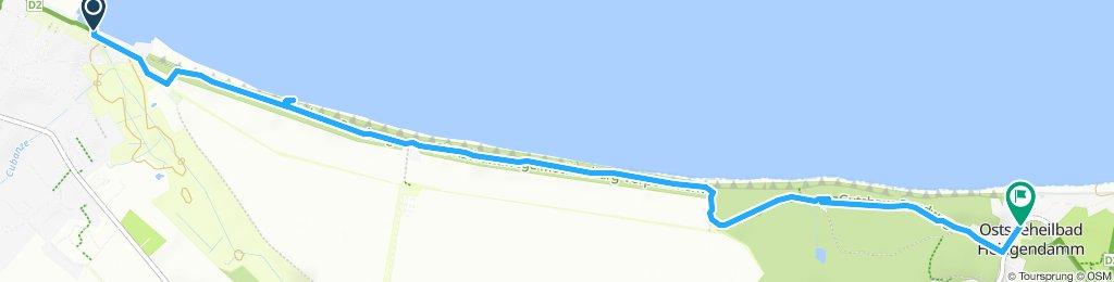 Route im Schneckentempo in