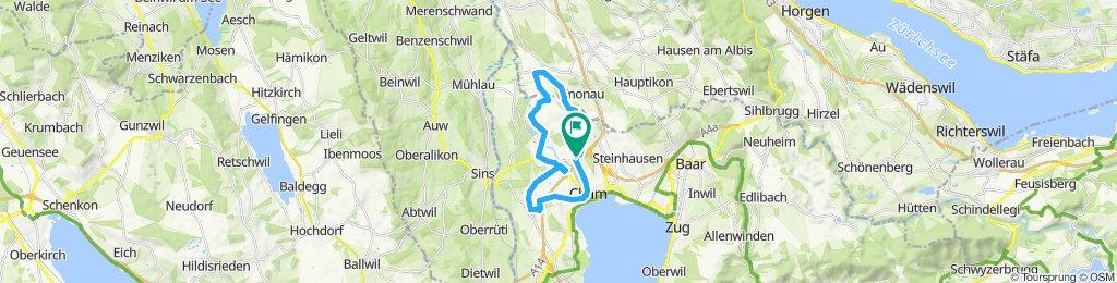 Route im Schneckentempo in Eizmoos