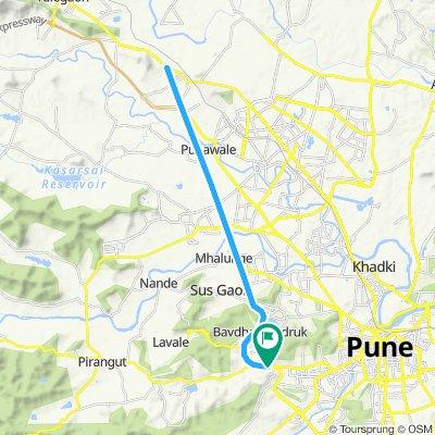 Chandni Chowk to Dehu Junction Return