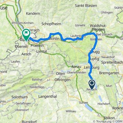 Reinach Ag nach Basel