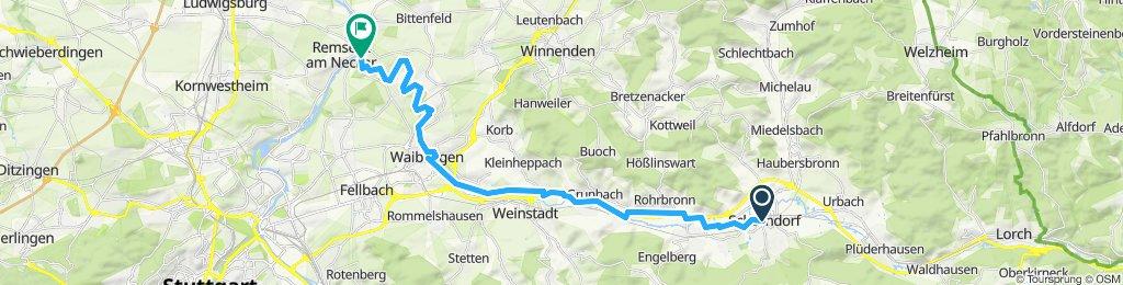 Remstal-Radweg Teil II