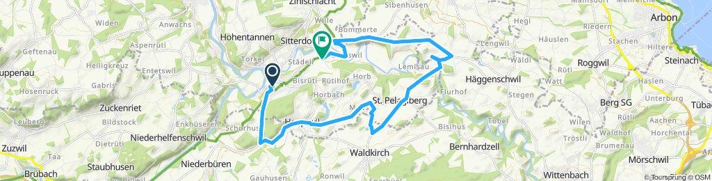 Bischofszell, Hauptwil, Roten, Sitterdorf, Bischofszell