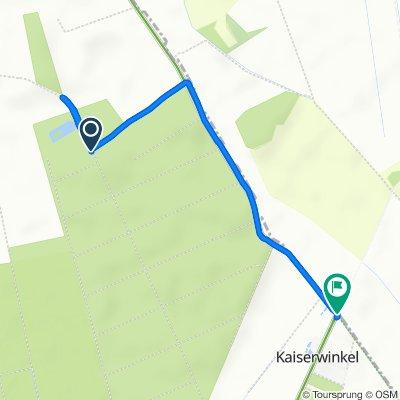 Gemütliche Route in Parsau