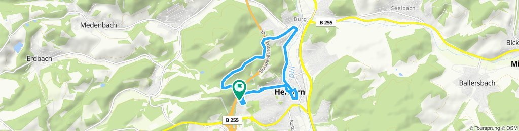 Gemütliche Route in Herborn