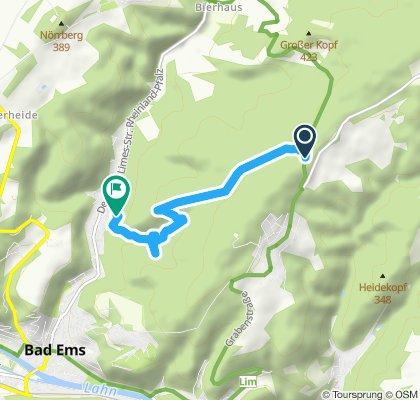 Gemütliche Route in Bad Ems