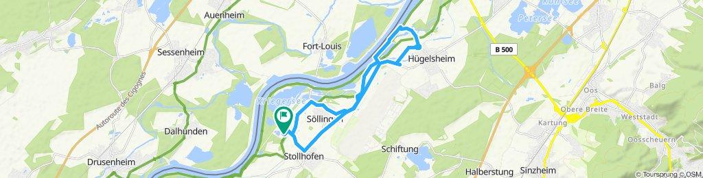 Langsame Fahrt in Villingen-Schwenningen