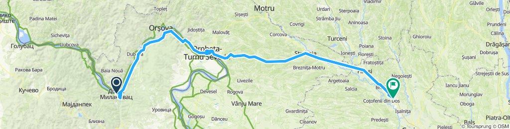 20 Donji Milanovac - Drobeta-Turnu Severin - Beharca