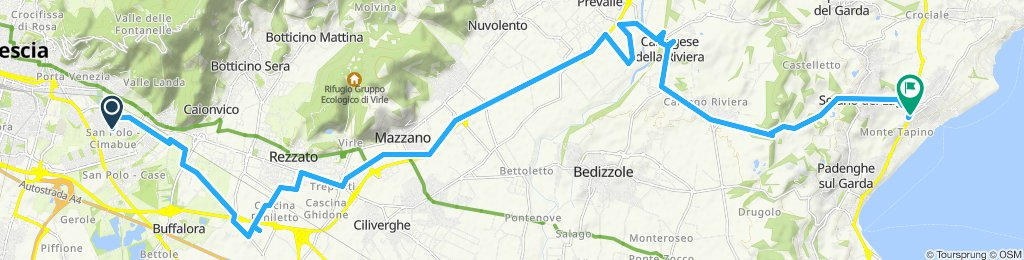 Giro semplice in Brescia
