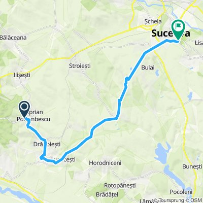 Ciprian Porumbescu - Suceava (28km, 260hm)