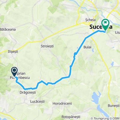 Ciprian Porumbescu - Suceava (25km, 220hm)