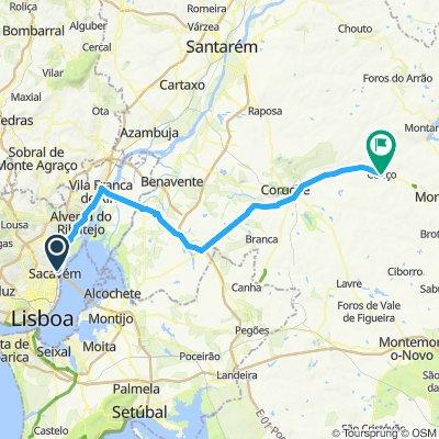 Lisbon to Paris - Day 1