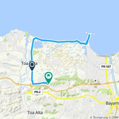 Easy ride in Toa Baja
