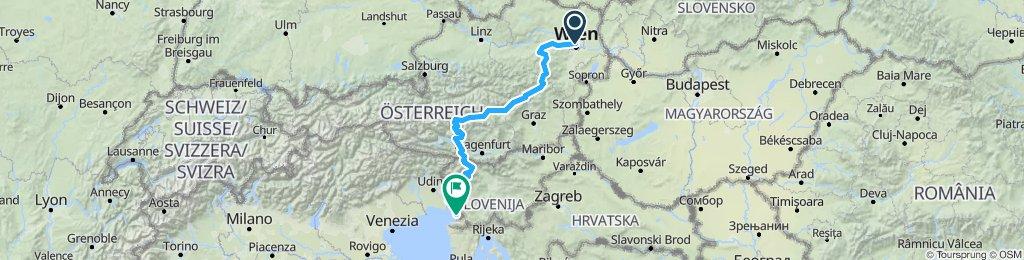Vienna to Triste #1