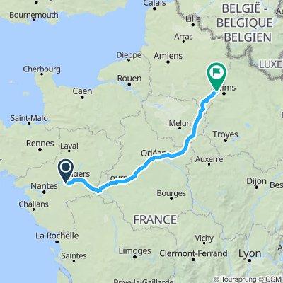 Montjean to Branscourt
