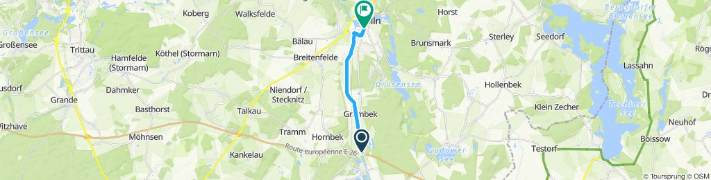 Moderate Route in Mölln