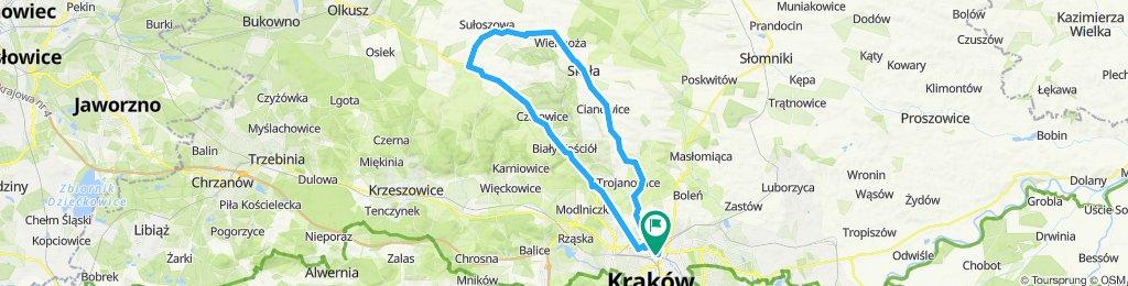 Gminy (Wielka Wieś, Jerzmanowice-Przegina, Sułoszowa, Skała, Zielonki)