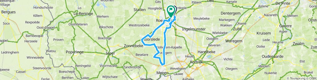 Steady ride in Roeselare