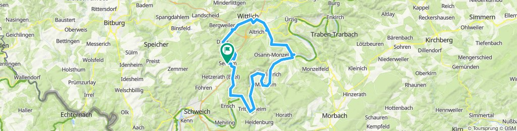 E-Bike ab Sehlem: Wittlicher Senke u. Moseltal