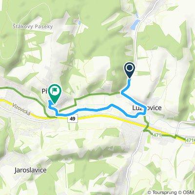 Steady ride in Zlín