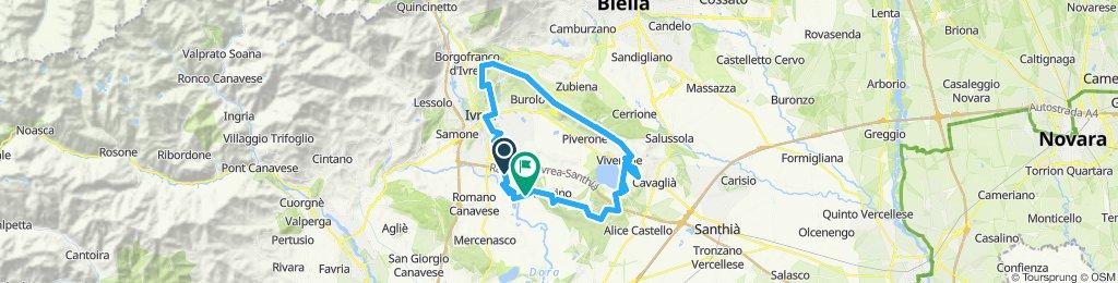 Tour (est) dei 10 laghi dell'Anfiteatro Morenico di Ivrea V 1-0