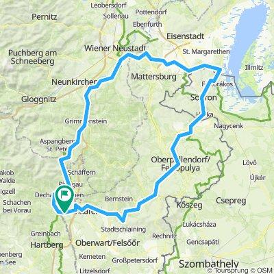 Neustift / L - Mörbisch Tour