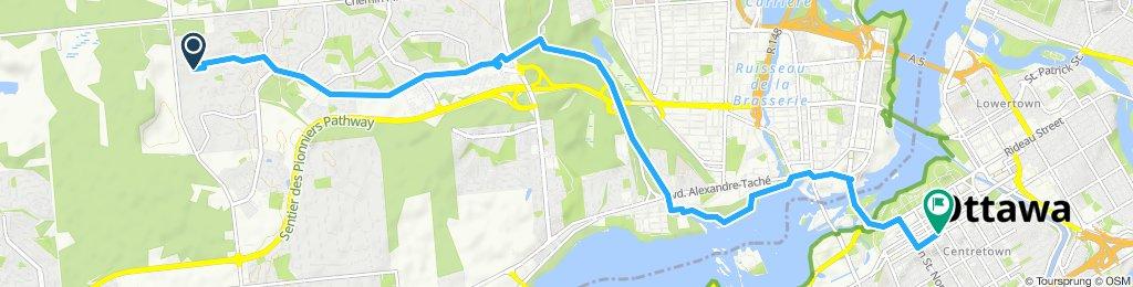 Steady ride in Ottawa