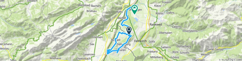 Einfache Fahrt in Meiningen