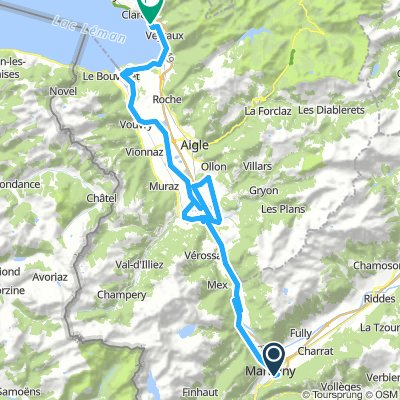 2010.09.03. Martigny - Montreux