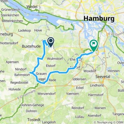Neu Wulmsdorf  nach Harburg