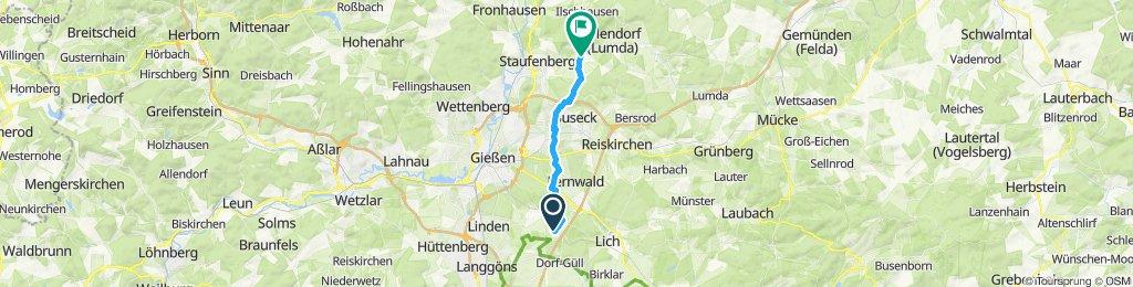 Gemütliche Route in Staufenberg