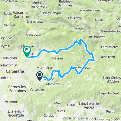 dag 3 Malemort-du-comtat - Caromb