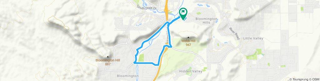 A Web Hill-Virgin River Loop