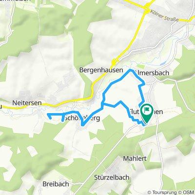 Slow ride in Fluterschen