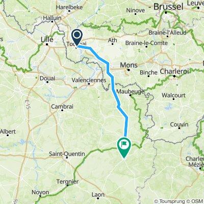 2 Tournai to Vervins