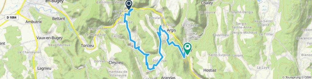 Saint-Rambert - Indrieux - Plomb - Tenay