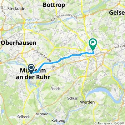 Day 2: Mulheim to Essen