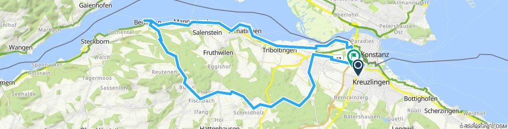 Moderate Route in Kreuzlingen