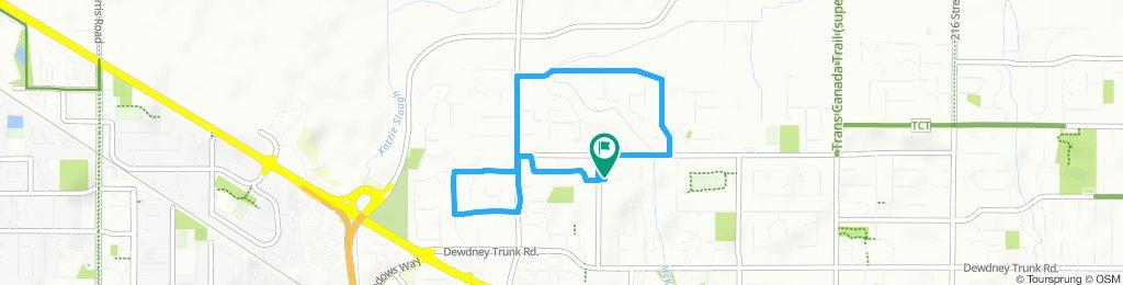 Slow ride in Maple Ridge