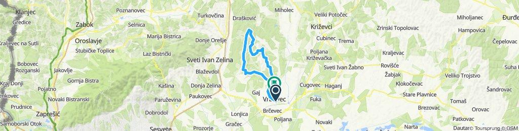 Vrbovec-Zrinščina-Dvorišće-Hudovo-Topolovec-Vrbovec