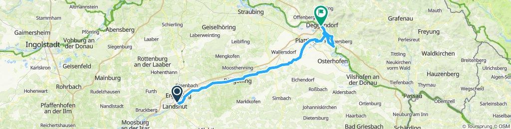 unsere Tour Etappe 2