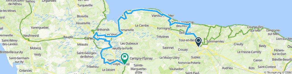 Bayeux Lison 101km