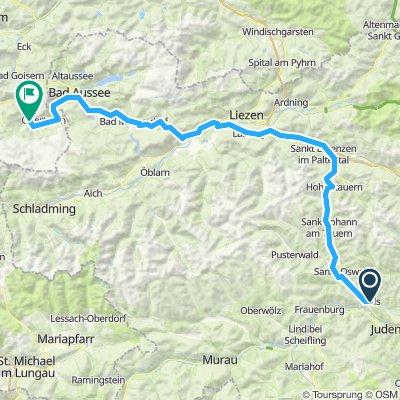 Pols, Austria to Hallstatt, Austria