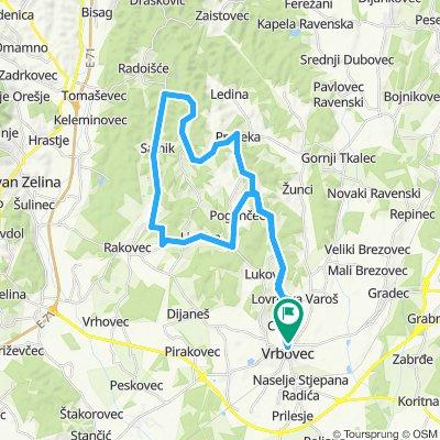 Map 12 — Vrbovec – Lovrečka Varoš – Preseka – Gornji Tkalec ...