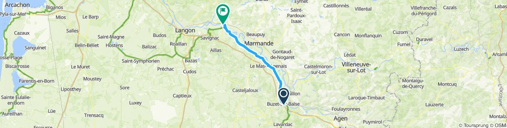 Day 4 - Buzez-sur-Baïse - La Réole